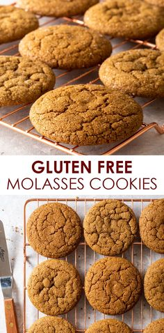 Best Gluten Free Desserts, Gluten Free Cookie Recipes, Gluten Free Baking, Healthy Dessert Recipes, Free Recipes, Christmas Desserts, Christmas Baking, Christmas Recipes, Christmas Cookies