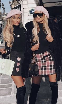 Trending Women's Thigh High Boots Outfit Ideas for Fall or Winter 2018 Classy Elegant Going Out Thigh High Boots Outfit Ideas for Women Fall or Winter – Elegantes ideas para ropa de otoño o invierno para mujeres – www. Paris Outfits, Girly Outfits, Classy Outfits, Chic Outfits, Fall Outfits, Fashion Outfits, Womens Fashion, Fashion Ideas, Look Fashion