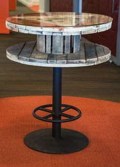 Repurposed Wire Spool Ideas - Wood Spool Tables