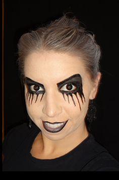 Stunning Halloween Makeup Black Eye Photos - harrop.us - harrop.us