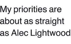 Alec Lightwood puns are the best