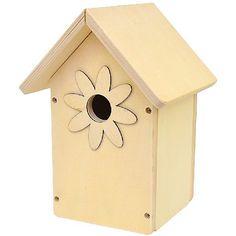 Vogeldekohäuschen Nistplatz für Vögel