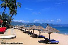 Nha Trang beach umbrellas