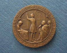 Antique Religious Medal Saint Constantine Saint by davidjp1927