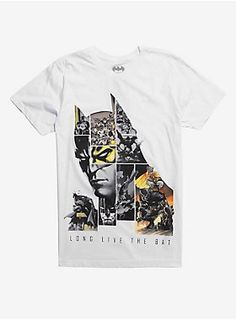 664d3149d637b Batman 80th Anniversary Long Live The Bat T-Shirt