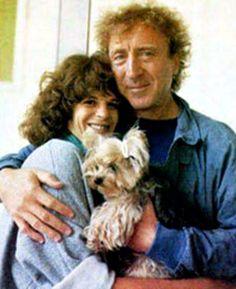 Gilda Radner and Gene Wilder....together again. RIP Gene...let the laughs begin :)