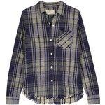 Current/Elliott - The Slim Boy Plaid Cotton-flannel Shirt