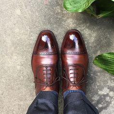 Scotch Grain 久々に履きましたやっぱりいい靴だと思います #scotchgrain #shoes #スコッチグレイン #紳士靴 #革靴