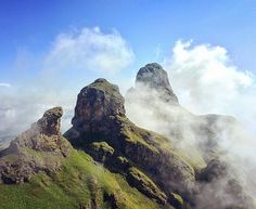 The Camel in the clouds, Drakensberg, South Africa. #adventure #africa #explore #epic #follow #hiking #southafrica #instagood #wanderlust #rockclimbing #outdoors #drakensberg #landscape #clouds #climbing #mountain #mountains #climbing_pictures_of_instagram #View #nature #go #drakensbergmountains