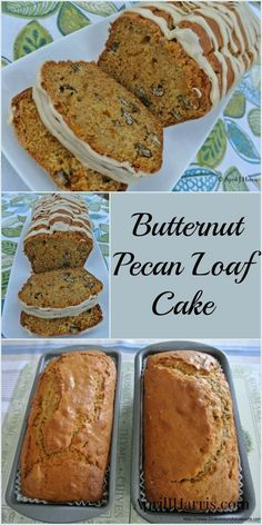 A warmly spiced, moist and delicious, pecan studded loaf cake, my Butternut Pecan Loaf is a great way to use up a surfeit of butternut squash!