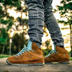 "Nike LeBron 10 EXT QS ""Brown Suede"" / ""Hazelnut"""