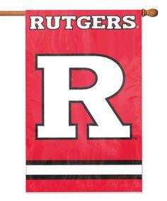Rutgers Banner Flag