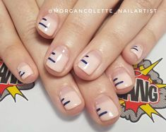 """133 Likes, 2 Comments - @morgancolette_nailartist on Instagram: """"Simple & sweet for Alice! @fingerbangportland #nailart #nailchurch #pdxnails"""""""