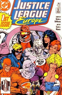 I was probably the only person that actually liked Justice League Europe - I *loved* how funny this era was.
