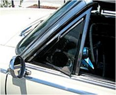 Vent windows on cars