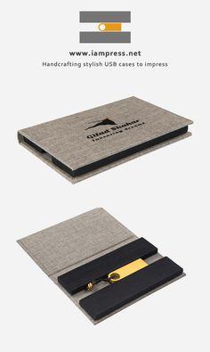Branded USB case by: www.iampress.net …