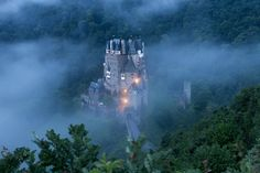 Castle Eltz - Waking up at 3 am was totally worth it.  Castle Eltz is one of the most impressive places in the morning hours.