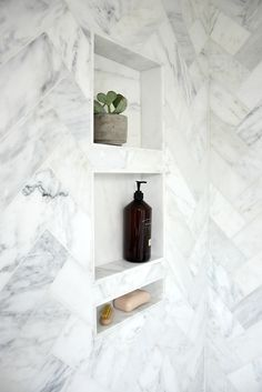 Most Simple Tricks Can Change Your Life: Master Bathroom Remodel Joanna Gaines. 3 Most Simple Tricks Can Change Your Life: Master Bathroom Remodel Joanna Most Simple Tricks Can Change Your Life: Master Bathroom Remodel Joanna Gaines. Master Bathroom Shower, Shower Niche, Simple Bathroom, Bathroom Ideas, Bathroom Organization, Minimal Bathroom, Bathroom Mirrors, Bathroom Marble, Bathroom Cabinets