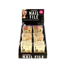 Nail File Matchbook Display Case ** Tried it! Love it! Click the image. : Makeup bag