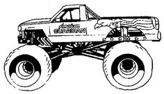 off road monster truck coloring page off road car car coloring pages