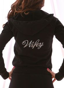 love this hoodie wifey is better then bride that way I can wear it even after the wedding!!