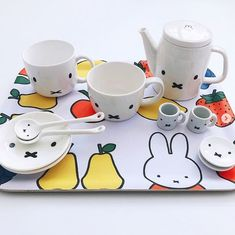 Miffy, Kid Character, Breakfast In Bed, Mugs, Tableware, Classic, Instagram, Bed And Breakfast, Derby
