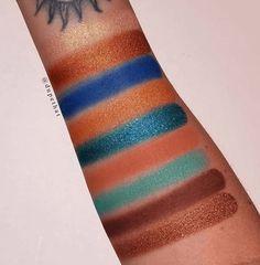Colourpop: Paletas de sombras de ojos Sol Y Mar