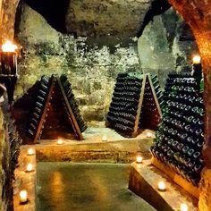 Private tour of the #Kessler Sekt sparkling wine cellar in #Esslingen. Fab!