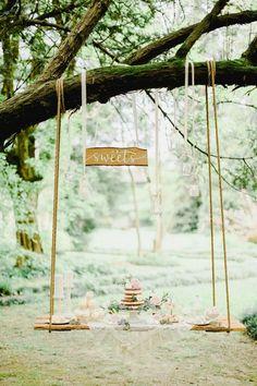Un matrimonio da sogno in giardino: