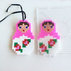 Matryoshka hama beads by annaidag