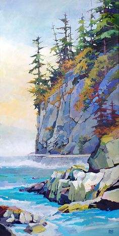 What is Your Painting Style? How do you find your own painting style? What is your painting style? Canadian Art, Landscape Paintings, Art Drawings, Nature Art, Painting, Watercolor Landscape, Abstract, Landscape Art, Abstract Art Landscape