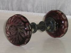 Medium Fleur de Lis Knob in Pewter with Copper Wash Finish | For the ...