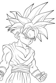 Dibujos de Dragon Ball Z a Lapiz  Dragon ball Dragons and Goku