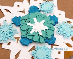 Snowflakes For Hanging Winter Wonderland Frozen Birthday Decorations