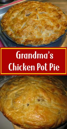 Dont Lose this Recipe by forgetting to hit the Save Button! The post Grandmas Chicken Pot Pie appeared first on Tasty Recipes. One Dish Meals Tasty Recipes Easy Pie Recipes, Cooking Recipes, Fall Recipes, Yummy Recipes, Turkey Recipes, Chicken Recipes, Rabbit Pot Pie Recipe, Recipe For Chicken Pot Pie, Chicken Pot Pie Recipe Pioneer Woman