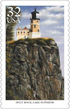 Split Rock is one of five lighthouses chosen in 1995 to commemorate the more than 220 lighthouses that dot the bluffs, inlets and islands of the U.S. waters of the Great Lakes.