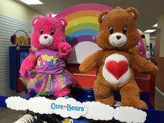 #ShareYourCare Care Bears at Build A Bear Workshop