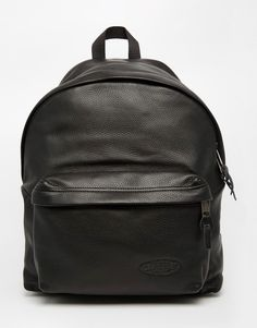 Eastpak+Padded+Pak R+Leather Backpack Leather Backpack 57518a9b8a2fb