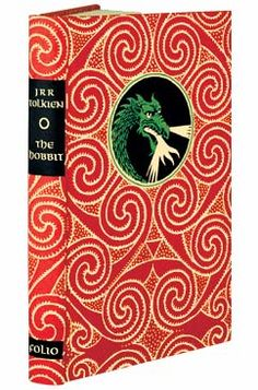 The Hobbit written by J.R.R. Tolkien. Book jacket designed by Francias Mosley. Illustrated by Eric Fraser.