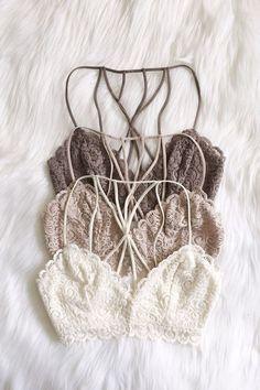 lace bralette with cage back Lingerie Fine, Jolie Lingerie, Fashion Design Inspiration, Mode Inspiration, Mode Ootd, Bikini Mode, Look Fashion, Womens Fashion, Fashion Wear