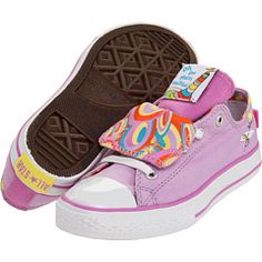 3a101eb2372a2c Converse kids chuck taylor all star double tongue ox toddler youth purple  multi