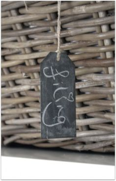 Chalk boards gift tags