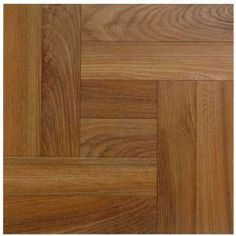 Textured Vinyl Tile Light Wood - 0.56 sq m per Pack from Homebase.co.uk. £7.99. Self adhesive.