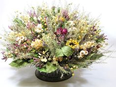 Dried Floral, Dried Flower Arrangement by SummerSweet Boutique