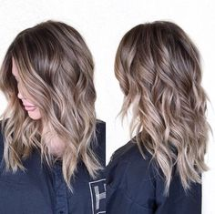 Katie Clarkson - Best Hairstyles & Haircuts for Men and Women in 2019 Pretty Hairstyles, Wig Hairstyles, Beliage Hair, Hair Color And Cut, Shoulder Length Hair, Fall Hair, Human Hair Wigs, Hair Goals, Dyed Hair