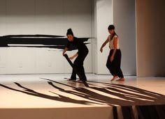Work on Process, Guggenheim drawing performance rehearsal, Solomon R.Guggenheim Museum, New York, 2010, artist  sun k kwak
