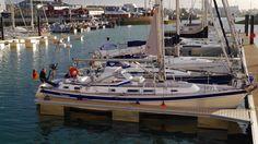600 Seemeilen später! South Coast England #sailing #hallbergrassy