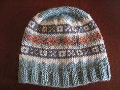 Marco Fair Isle Hat: A cute little hat that warms your little one with Xs and Os.