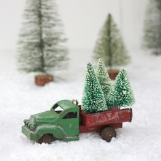 Christmas Tree Truck Decoration
