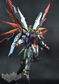 GUNDAM GUY: 1/100 Arch Destiny Gundam - Painted Build